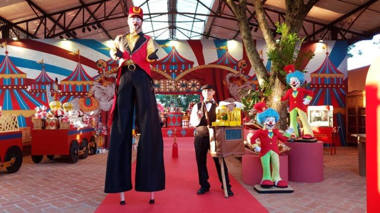 show de circo para evento